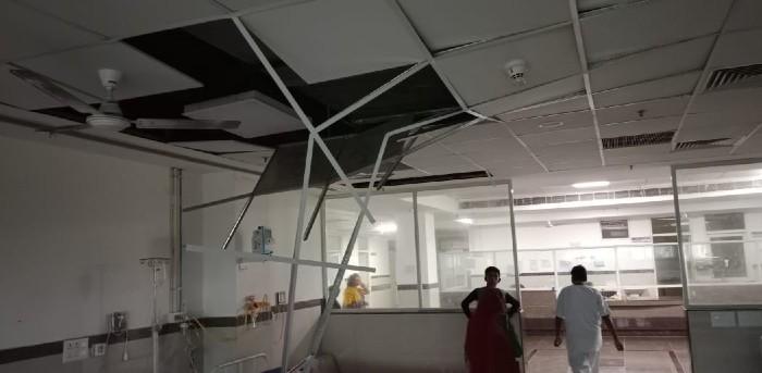 खाना खा रहे 3 लोगों को आई चोट, मौके पर अफरा तफरी मची; डेढ़ महीने में दूसरी बार हुई घटना|कोटा,Kota - Dainik Bhaskar