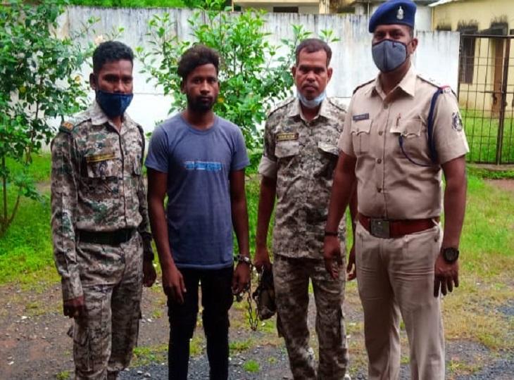 शादी का झांसा देकर लेगया था तेलंगाना, कई दिनों तक करता रहा बलात्कार, पुलिस ने पकड़ा, गया सलाखों के पीछे|जगदलपुर,Jagdalpur - Dainik Bhaskar