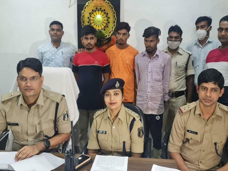 बिलासपुर में जन्माष्टमी पर 6 युवकों ने किया था हमला, एक युवक की हो गई थी मौत, छिपकर रह रहे युवक पकड़ाए बिलासपुर,Bilaspur - Dainik Bhaskar