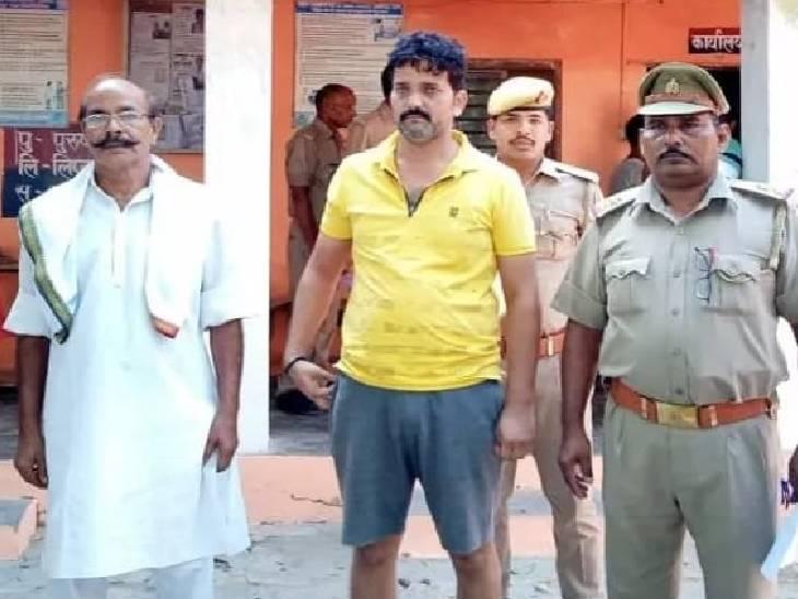कोर्ट ने दिए थे कुर्की के आदेश, 5 लाख के चेक का भुगतान न करने पर पुलिस कर रही थी तलाश|गाजीपुर,Ghazipur - Dainik Bhaskar