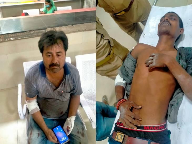 वाराणसी में PM मोदी के ड्रीम प्रोजेक्ट में फिर से हादसा, भारी भरकम शीशा 3 मजदूरों पर गिरा; 1 की मौत, 2 घायल|वाराणसी,Varanasi - Dainik Bhaskar