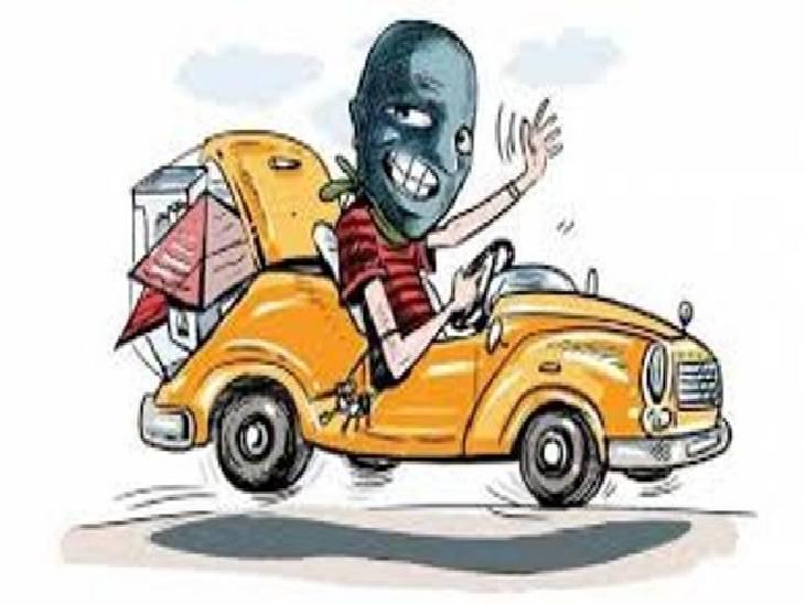 लखनऊ-आगरा एक्सप्रेस-वे पर बेहोशी की हालत में मिला, जहरखुरान ने बाराबंकी से उन्नाव जाने के लिए बुक कराई थी ट्रैक्सी|लखनऊ,Lucknow - Dainik Bhaskar