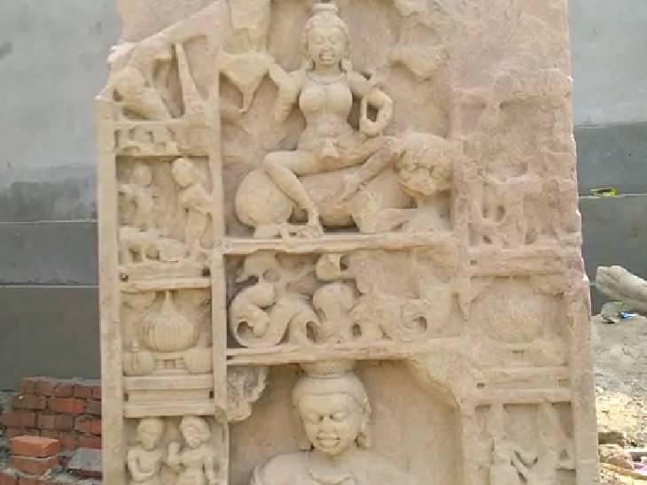 एटा में गुप्तकालीन अवशेषों का बनेगा स्मारक, भारत के नक्शे पर पर्यटन स्थल के रूप में होगा विकसित|एटा,Etah - Dainik Bhaskar