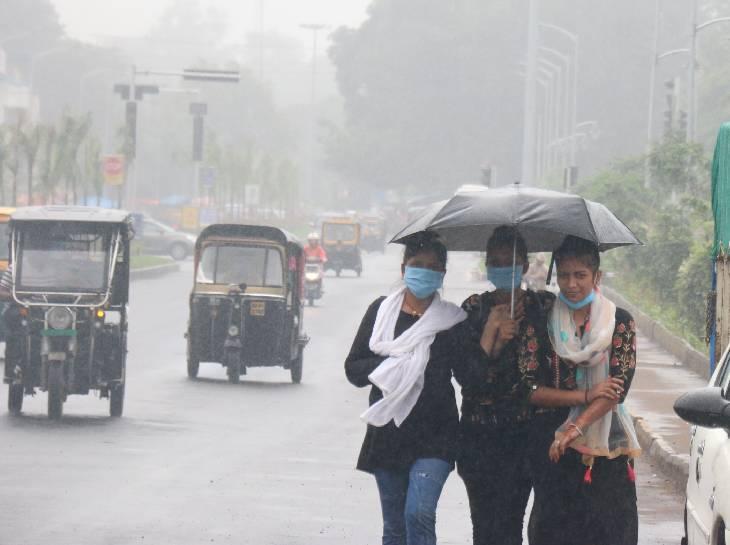 भोपाल, इंदौर, ग्वालियर और जबलपुर में कहीं-कहीं हल्की बारिश; अगले 24 घंटे में 15 जिलों में भारी बारिश|मध्य प्रदेश,Madhya Pradesh - Dainik Bhaskar