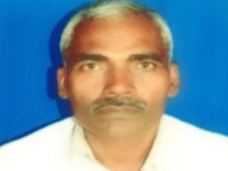 प्रतापगढ़ में सड़क हादसे में बुजुर्ग की मौत। - Dainik Bhaskar