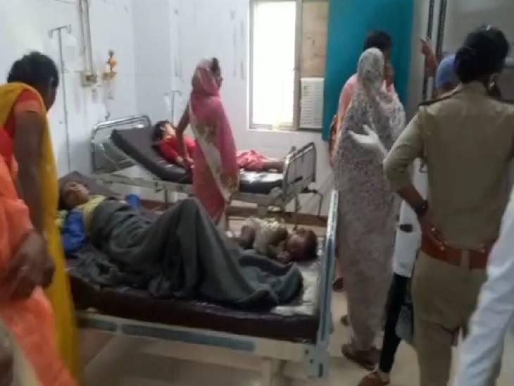 कन्नौज में मामूली विवाद में गर्भवती को बेरहमी से पीटा, महिला का हुआ गर्भपात, पड़ोसियों ने अस्पताल में कराया भर्ती|कन्नौज,Kannauj - Dainik Bhaskar
