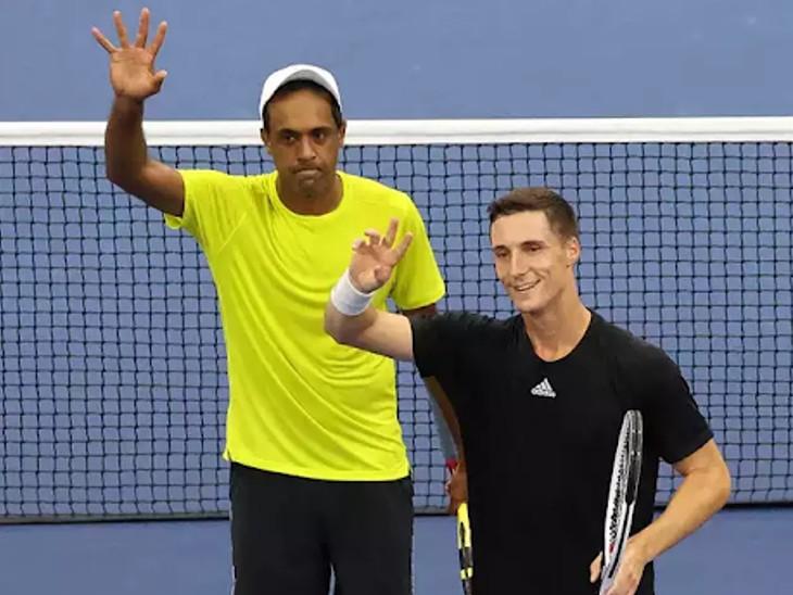 भारतीय मूल के अमेरिकी खिलाड़ी राजीव राम ने जो सैलिसबरी के साथ जीता मेन्स डबल्स का खिताब; सिंगल्स में डेनियल मेदवेदेव और नोवाक जोकोविच फाइनल में पहुंचे|स्पोर्ट्स,Sports - Dainik Bhaskar