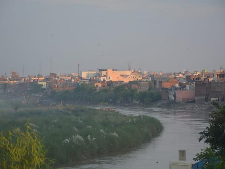 रामगंगा नदी के किनारे 74 मीटर की दूरी तक रिजर्व थी तटबंध के लिए जमीन, असफरों ने बनवा दी फैक्ट्रियां|मुरादाबाद,Moradabad - Dainik Bhaskar