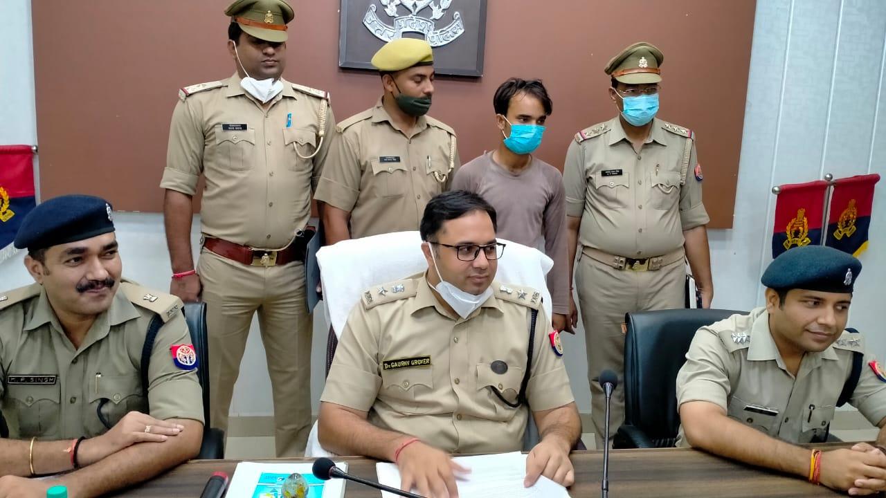 प्रेमी ने की थी महिला की हत्या , पुलिस ने आरोपी प्रेमी को किया गिरफ्तार|मथुरा,Mathura - Dainik Bhaskar