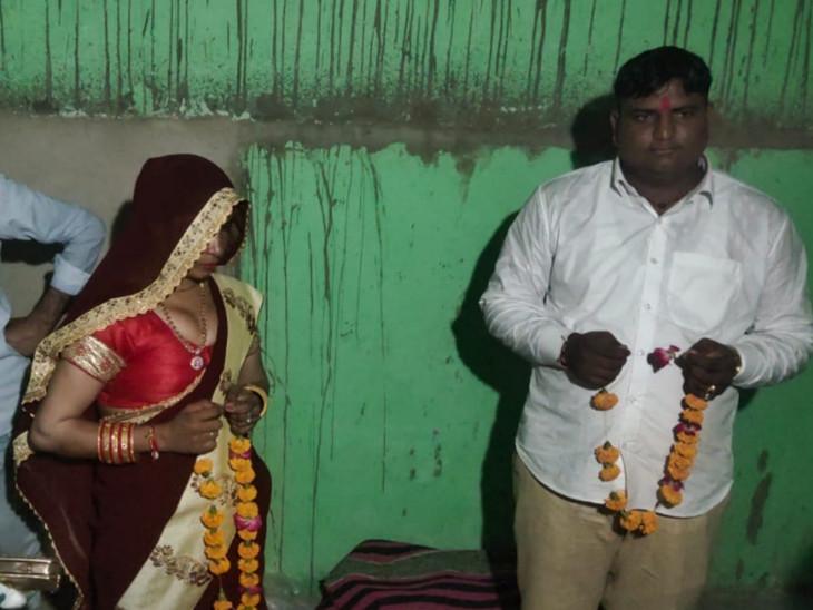 दलाल ने महिला को 60 हजार रुपए देकर बहू बना दिया, गहने लेकर भागी; आरोपी ने पुलिस से जबरदस्ती रखने की शिकायत की|अलवर,Alwar - Dainik Bhaskar