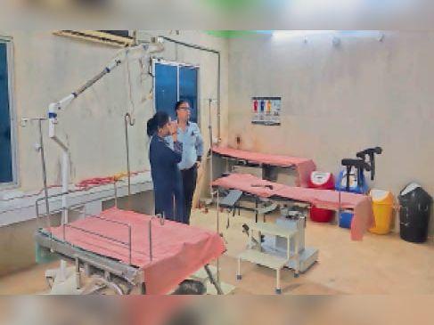 गोयनी और मुरकिल में डिलीवरी उपकरण इंस्टॉल किया गया। - Dainik Bhaskar
