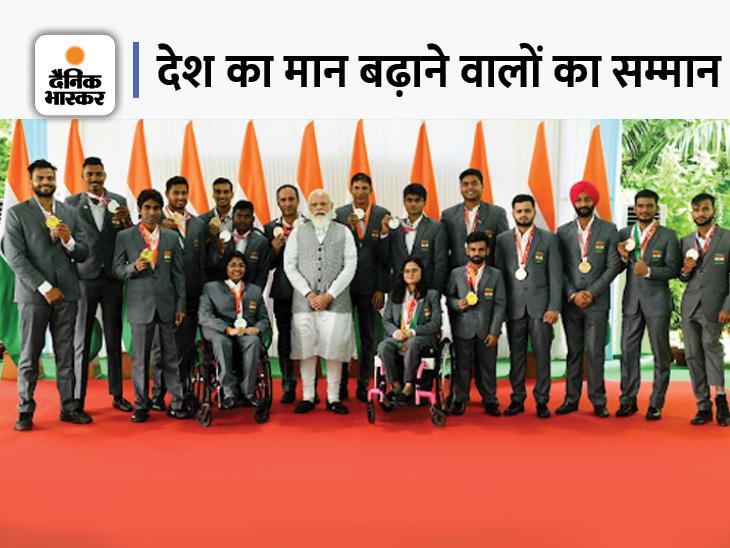 सिल्वर जीतने वाले नोएडा के DM ने PM से कहा- स्कूल ने 3 बार एडमिशन नहीं दिया था, आज आपके पास बैठा हूं क्रिकेट,Cricket - Dainik Bhaskar