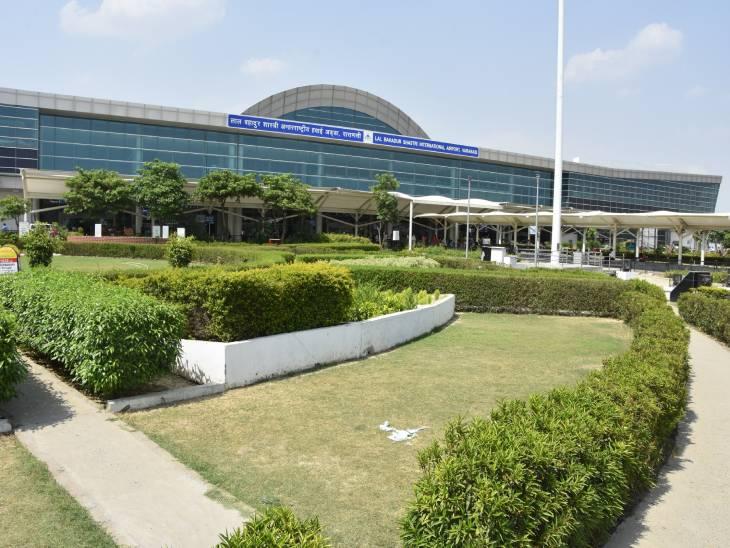 दिल्ली से रांची जा रहा एयर एशिया का विमान मौसम खराब होने की वजह सेवाराणसी में उतारा गया। - Dainik Bhaskar