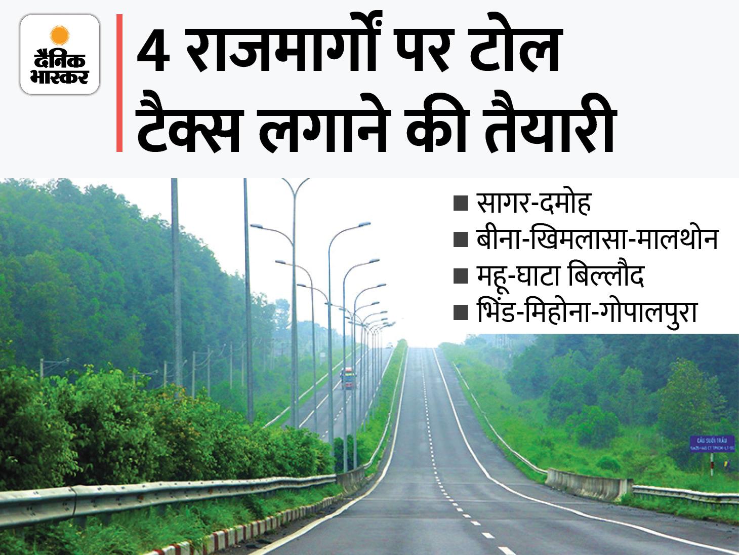 4 हाईवे पर टोल टैक्स लगाने का प्रस्ताव; बैकलाॅग पद भरने के लिए भर्ती अभियान एक साल बढ़ेगी, न्यायिक सेवा के चयनित उम्मीदवारों को भरना होगा बाॅन्ड मध्य प्रदेश,Madhya Pradesh - Dainik Bhaskar