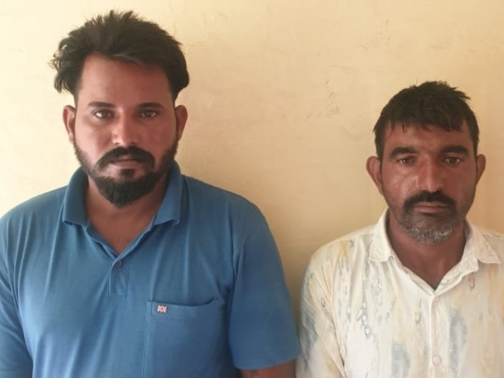 बिना नंबर की बाइक देखकर पुलिस ने रूकने का किया इशारा, नाकाबंदी लगी देखकर भागे तो पीछा कर पकड़ा, तलाशी में मिली 10 ग्राम हेरोइन|हनुमानगढ़,Hanumangarh - Dainik Bhaskar