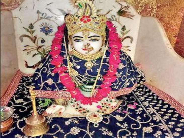 राधाष्टमी 14 को, रावल में जन्मोत्सव मनाने के लिए आने लगे श्रद्धालु। - Dainik Bhaskar