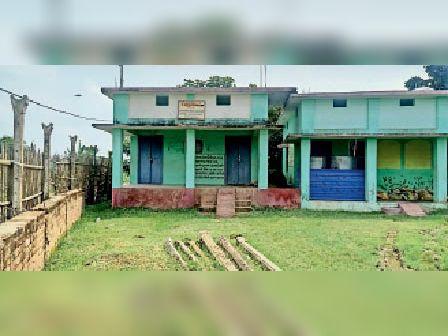 डीपीओ के निरीक्षण में बंद मिला प्राथमिक विद्यालय ईटहरी उतरी। - Dainik Bhaskar