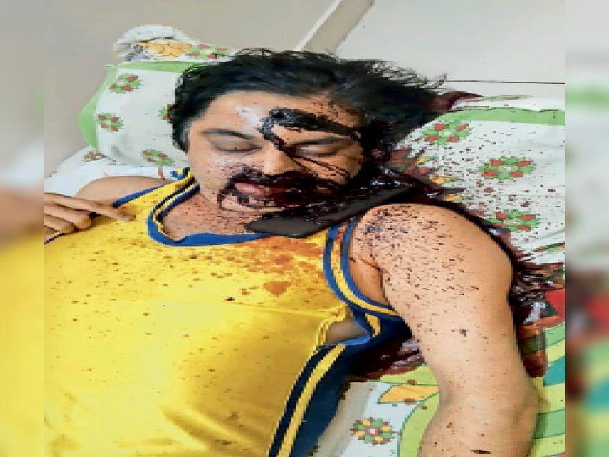 वकील का दावा: मोनू ने रोते हुए बताया- मुझे पुलिस ने गलत फंसाया|रोहतक,Rohtak - Dainik Bhaskar