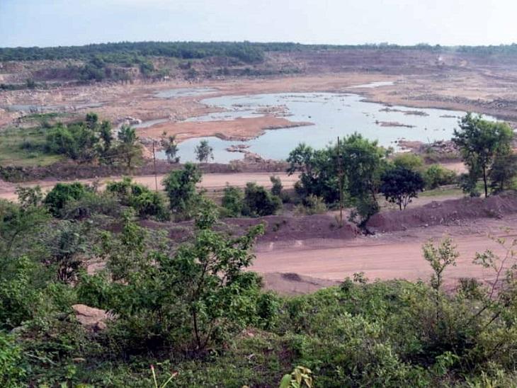 चूना पत्थर की इस बंद पड़ी 2500 हेक्टेयर में फैली खदान को ही जंगल बनाने की तैयारी है।