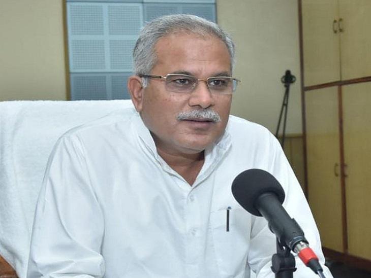 मुख्यमंत्री भूपेश बघेल हर महीने के दूसरे रविवार को रेडियो वार्ता लोकवाणी के जरिए प्रदेश के लोगों से बात करते हैं। - Dainik Bhaskar