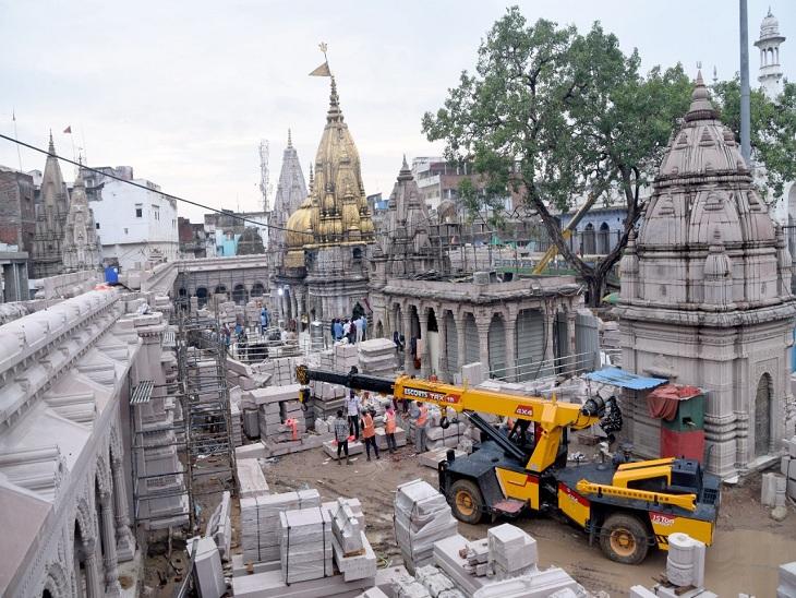 वाराणसी में PM मोदी के ड्रीम प्रोजेक्ट में मजदूर की मौत की पड़ताल करेगा PWD, मंदिर प्रशासन भी करेगा तफ्तीश; पुलिस ने बनाई दूरी|वाराणसी,Varanasi - Dainik Bhaskar