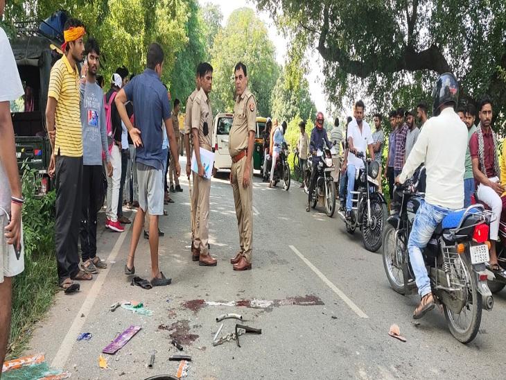 वाराणसी में 14 घंटे में 3 जगह रोड एक्सीडेंट, तेज रफ्तार और लापरवाही बनी वजह; घायलों को कराया गया अस्पताल में भर्ती|वाराणसी,Varanasi - Dainik Bhaskar