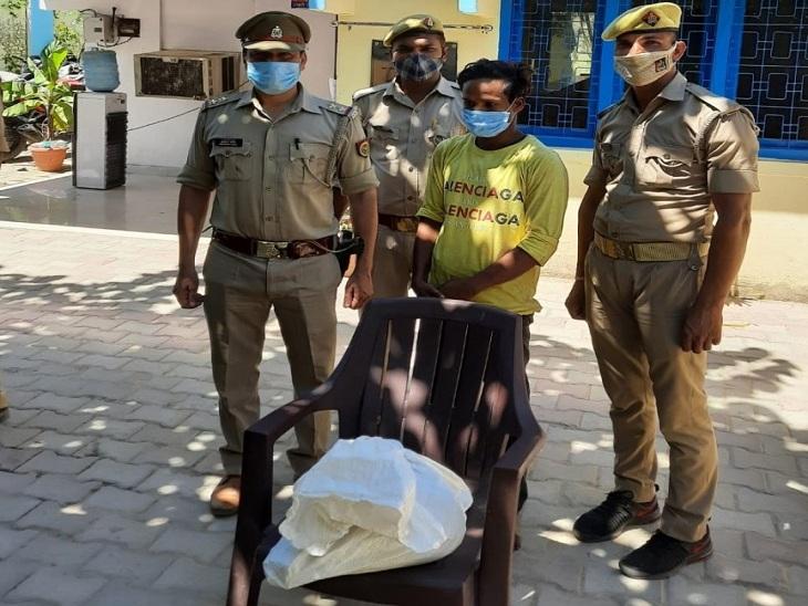 वाराणसी में उपन्यास सम्राट प्रेमचंद के पैतृक घर में हुई थी चोरी, 1 आरोपी गिरफ्तार; अदालत में पेश कर भेजा गया जेल|वाराणसी,Varanasi - Dainik Bhaskar