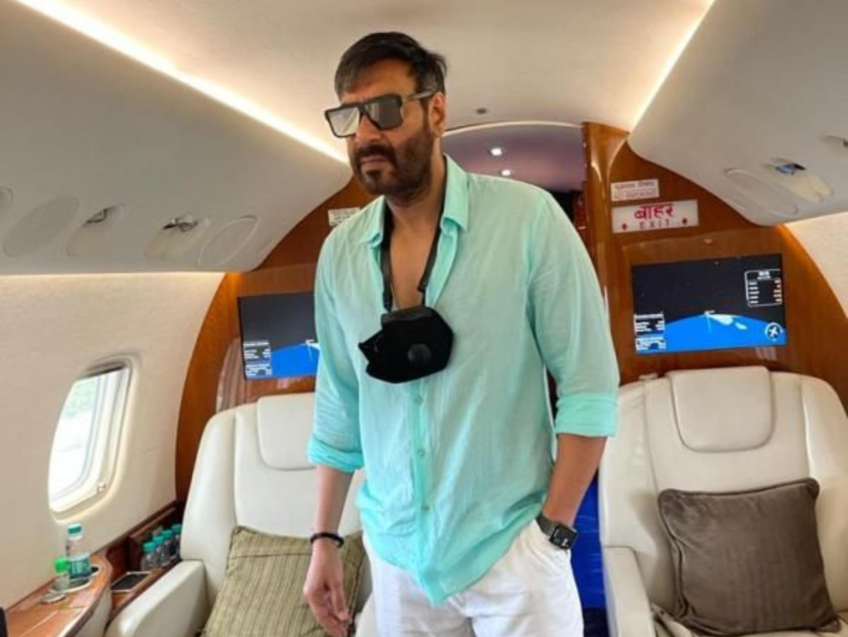 अजय देवगन एडवेंचर करने मालदीव रवाना, बेयर ने पूछा- गेस करो दूसरा बॉलीवुड सेलेब कौन|बॉलीवुड,Bollywood - Dainik Bhaskar