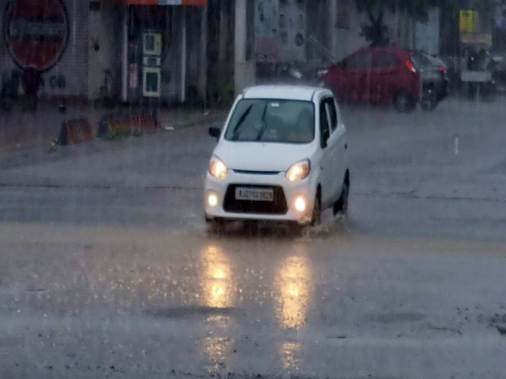 सोमवार सुबह तक खोले जा सकते पिछोला के गेट, कोटड़ा में सबसे ज्यादा 112 एमएम बारिश; रविवार शाम को छलका छोटा मदार उदयपुर,Udaipur - Dainik Bhaskar