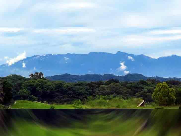 बारिश के बाद शिवालिक की पहाड़ियां साफ दिखने लगी