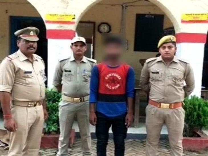 दिल्ली से प्रेमिका को बुलाने की जिद में किया मासूम का अपहरण, पुलिस से भी कर ली सेटिंग; मामला खुला तो हुई गिरफ्तारी|गोरखपुर,Gorakhpur - Dainik Bhaskar
