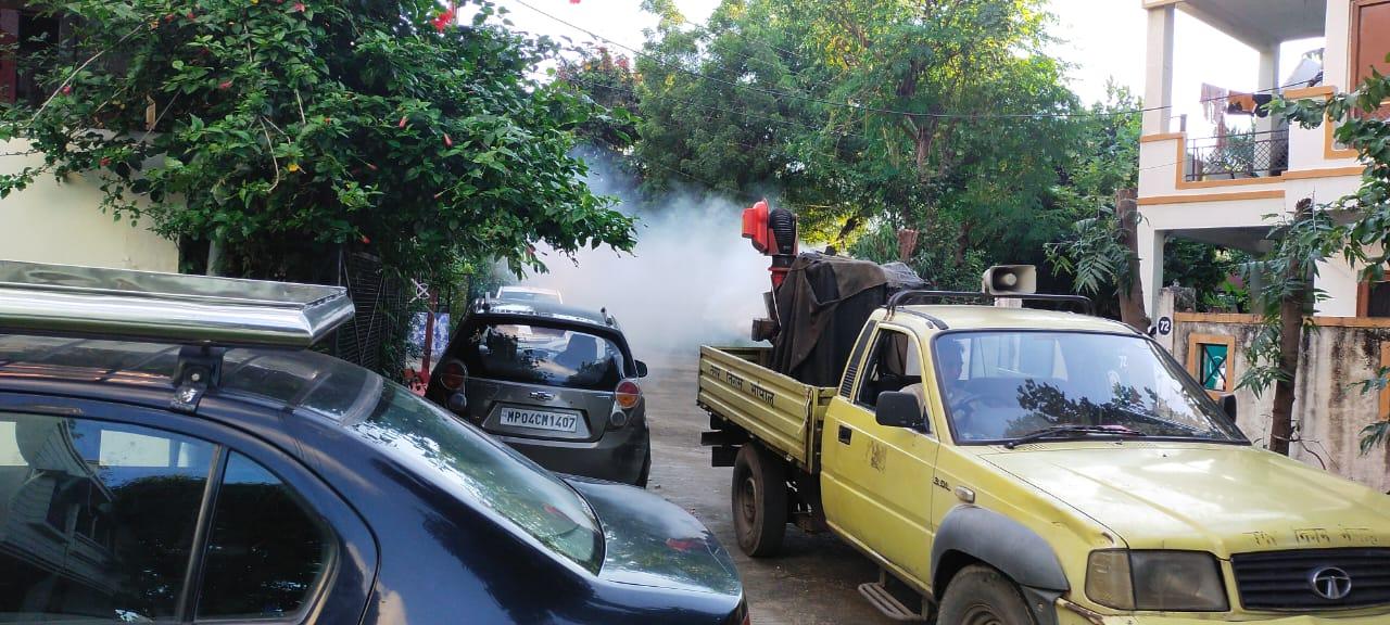 भोपाल में 24 घंटे में 6 नए मामले, 1 जनवरी से अब तक 181 डेंगू केस मिले; सर्वे में 12 सौ जगह मिला लार्वा; लोग बोले- सिर्फ VIP इलाके में हो रहा सर्वे और फॉगिंग|भोपाल,Bhopal - Dainik Bhaskar