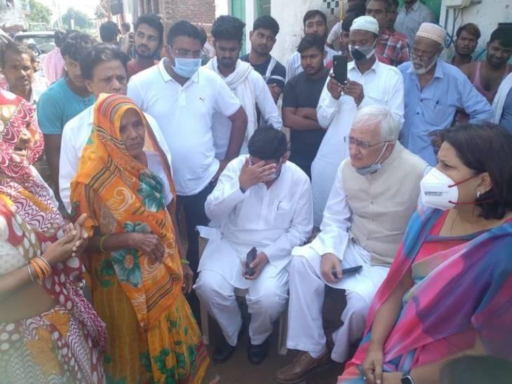 विधानसभा चुनाव से पहले आगरा में मन टटोलने पहुंचे सलमान खुर्शीद, शिक्षक भर्ती को लेकर अभ्यर्थियों की चेतावनी- 27 को विधानसभा घेरेंगे|उत्तरप्रदेश,Uttar Pradesh - Dainik Bhaskar