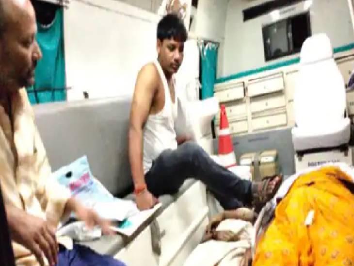 कुशीनगर में सड़क हादसा। - Dainik Bhaskar