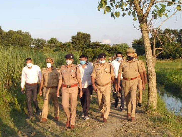 बहराइच में 24 घंटे में दूसरा डबल मर्डर, महिला का गला काट ले गए, बच्चे की भी गला रेतकर हत्या|उत्तरप्रदेश,Uttar Pradesh - Dainik Bhaskar