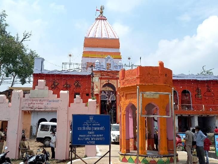 श्री दाऊजी महाराज मंदिर।