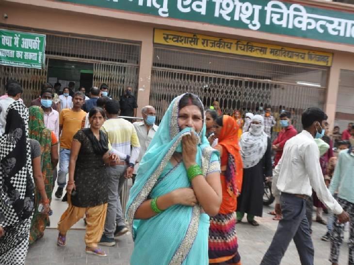 फिरोजाबाद में 24 घंटे में बुखार से 13 की मौत, अब तक 128 लोगों ने गंवाई जान; कासगंज में भी 6 लोगों ने दम तोड़ा|फिरोजाबाद,Firozabad - Dainik Bhaskar