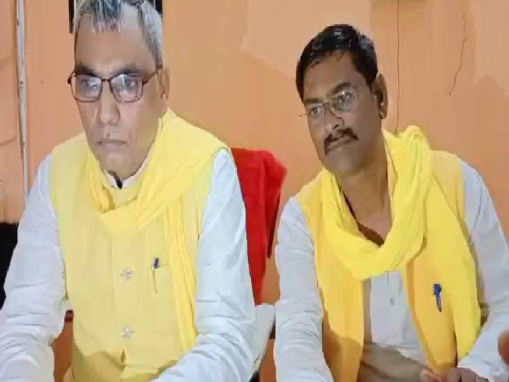 हरदोई में ओपी राजभर का CM पर निश� - Dainik Bhaskar