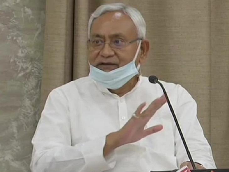 चिराग पासवान ने मुख्यमंत्री नीतीश कुमार के श्रद्धांजलि संदेश पर कोई जवाब नहीं दिया है। - Dainik Bhaskar