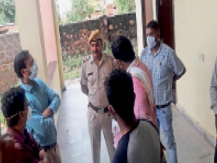 पुलिस ने माना संदिग्ध, एफएसएल की रिपोर्ट से तय होगा साेची समझी हत्या की साजिश या हादसा|डूंगरपुर,Dungarpur - Dainik Bhaskar