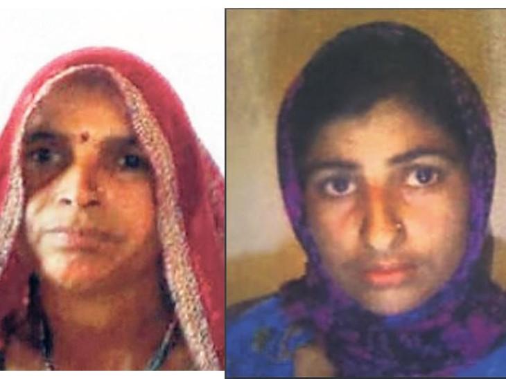 मां-बेटी की कीटनाशक से माैत; शव मुर्दाघर में रखे तो स्वीपर ने कानों से उतार ली बालियां|झुंझुनूं,Jhunjhunu - Dainik Bhaskar