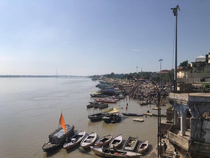 वाराणसी में कुछ और दिन तेज धूप और उमस कर सकती है परेशान, BHU के मौसम वैज्ञानिक बोले; सप्ताह भर बाद करवट लेगा मौसम|वाराणसी,Varanasi - Dainik Bhaskar