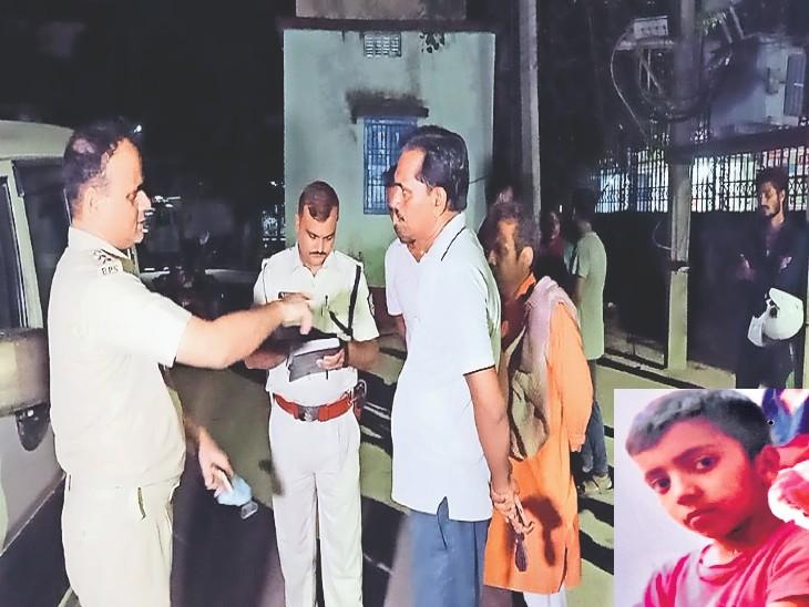 नालंदा में रास्ते पर पानी फेंक देता था, इसलिए 8 साल के अंशु के नाबालिग दोस्त ने ही डुबाकर मार डाला|पटना,Patna - Dainik Bhaskar