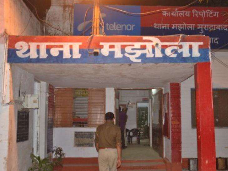बुद्धि विहार फेस 2 में MGR के पास सुबह सवा छह बजे वारदात, तमंचा दिखाकर चेन और अंगूठी लूटी|मुरादाबाद,Moradabad - Dainik Bhaskar