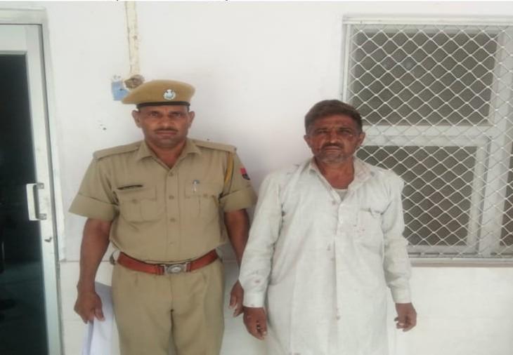 आरोपी राम सिंह गुर्जर। - Dainik Bhaskar