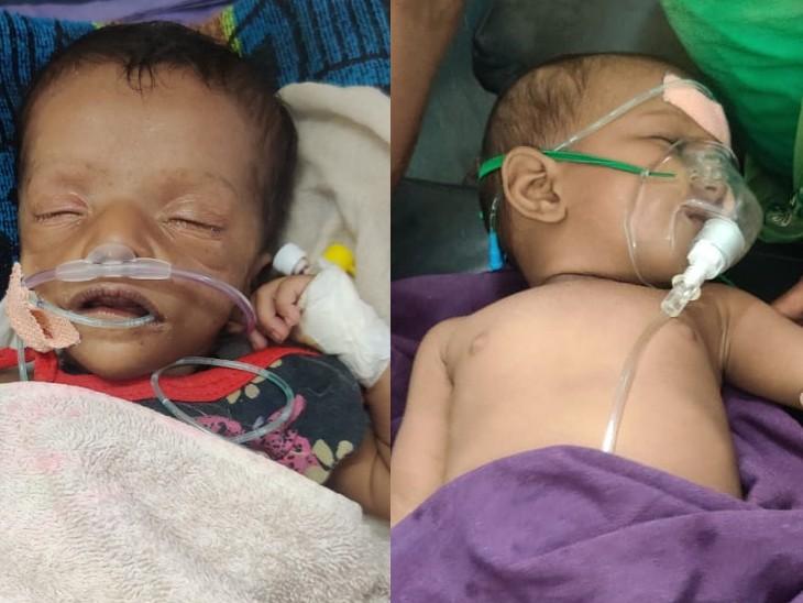 PMCH के शिशु रोग विभाग की इमरजेंसी से लेकर वार्ड तक भर्ती मासूमों को दवा नहीं मिल रही है।