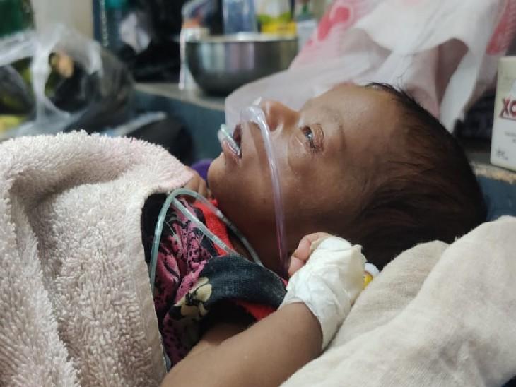 PMCH में 8 महीने के मासूम को 15 घंटे तक नहीं मिला बेड, इमरजेंसी वार्ड फुल, रात में एक मासूम ने तोड़ा दम|पटना,Patna - Dainik Bhaskar