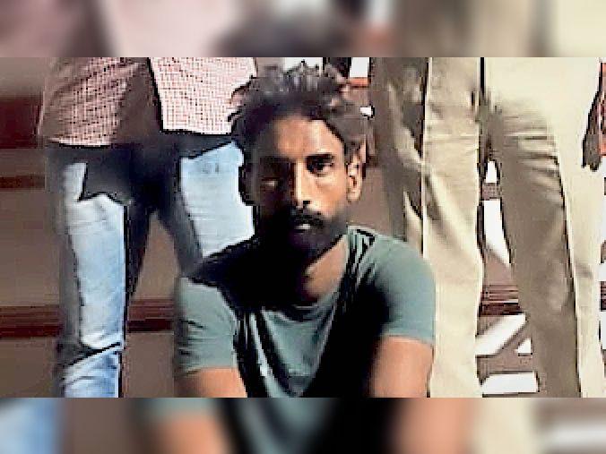 मारपीट में रंजिश काे लेकर की थी मिस्त्री की हत्या, आराेपी गिरफ्तार श्रीगंगानगर,Sriganganagar - Dainik Bhaskar