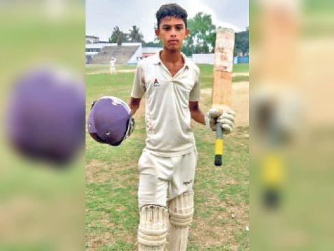 क्रिकेटर श्रमण निग्रोध। - Dainik Bhaskar