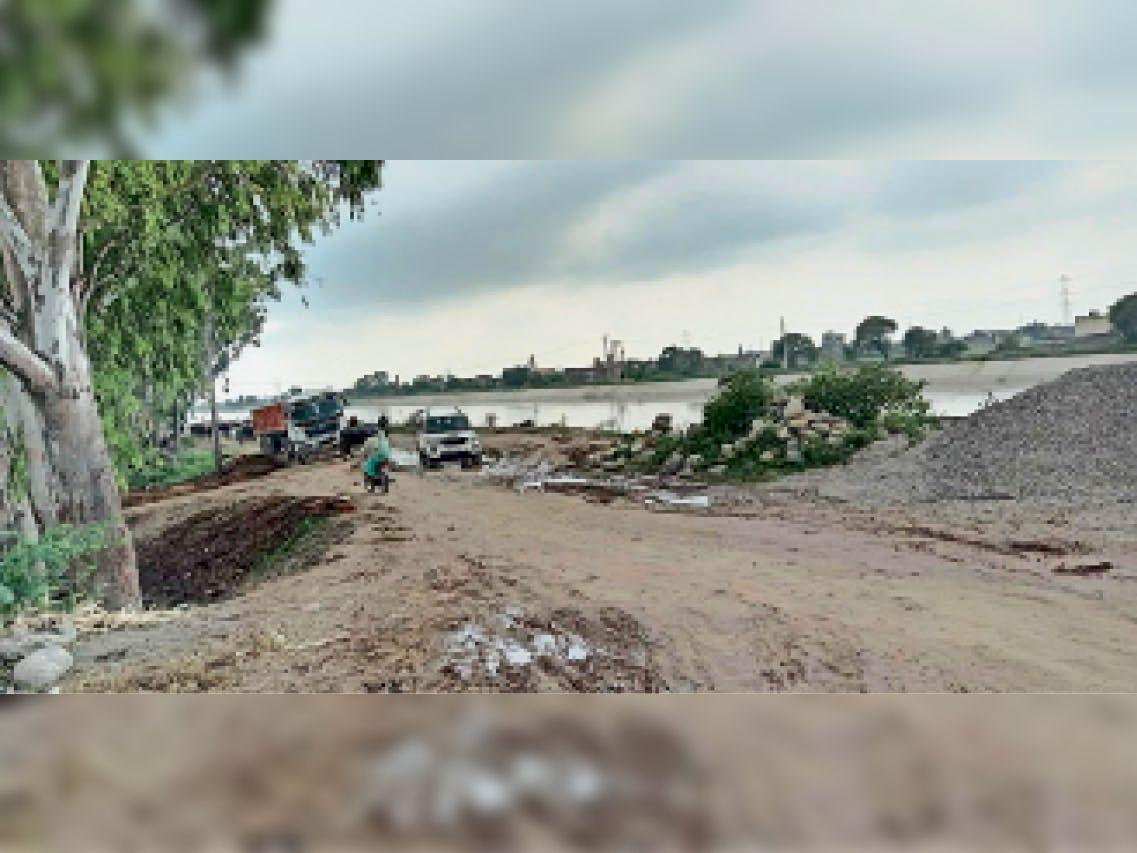 करनाल. पश्चिमी यमुना नहर बाईपास फेज-2 का कैथल रोड से अभी तक निर्माण कार्य शुरू नहीं हुआ। - Dainik Bhaskar